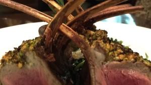 pistachio crusted rack of lamb