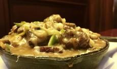 butternut squash gnocchi w/ steak tips